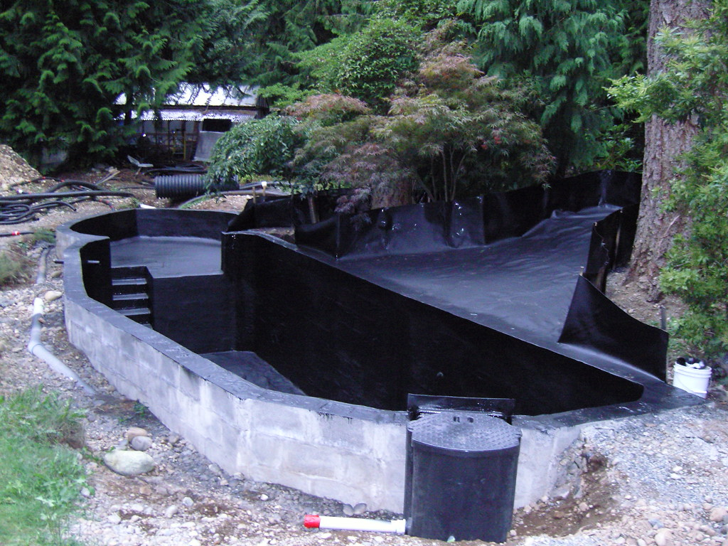 Spray line technologies sprayline technologies koi pond for Waterfall supplies